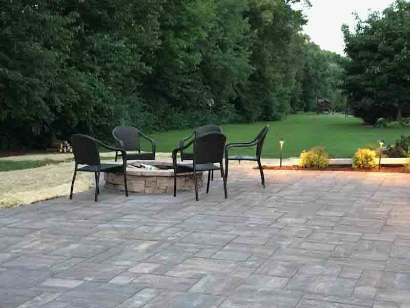 Backyard Patio Replacement and Enlargement Extreme Green Lawn and Landscape (19)