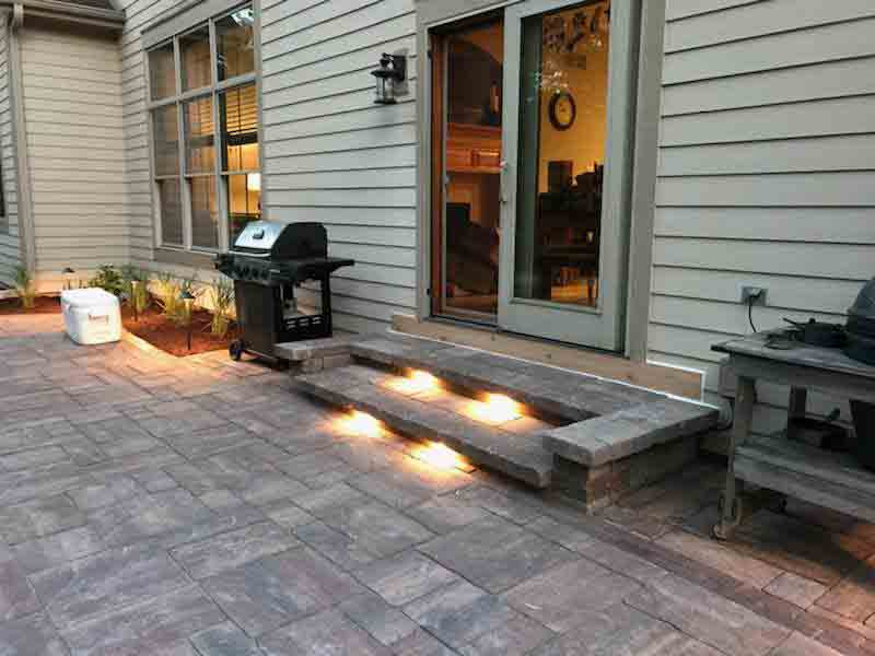 Backyard Patio Replacement and Enlargement Extreme Green Lawn and Landscape (27)