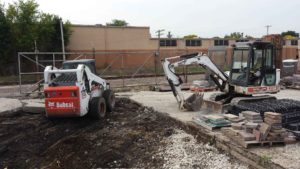 Brickyard | Extreme Green Lawn and Landscape | Germantown, WI | Commercial Project