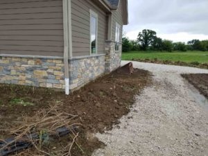 New Construction Entire Yard Project | Extreme Green Lawn