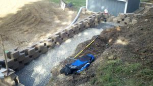Replace Railroad Ties Retaining Wall | Extreme Green Lawn & Landscape | Germantown, WI